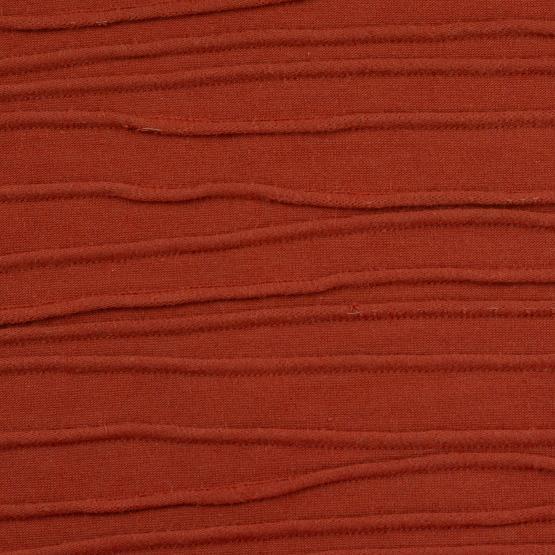 Struktur-Jersey Peru von Swafing, terracotta